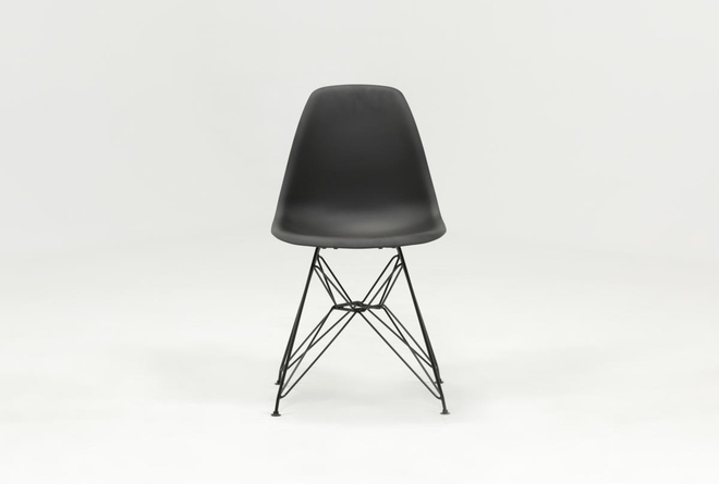 Alexa Black Dining Side Chair - 360
