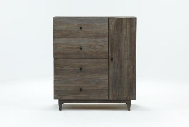 Ashton Desk Chest - 360