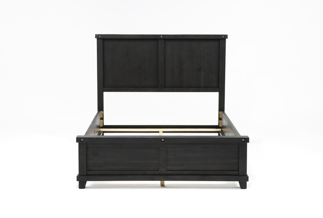 Jaxon Eastern King Panel Bed - 360