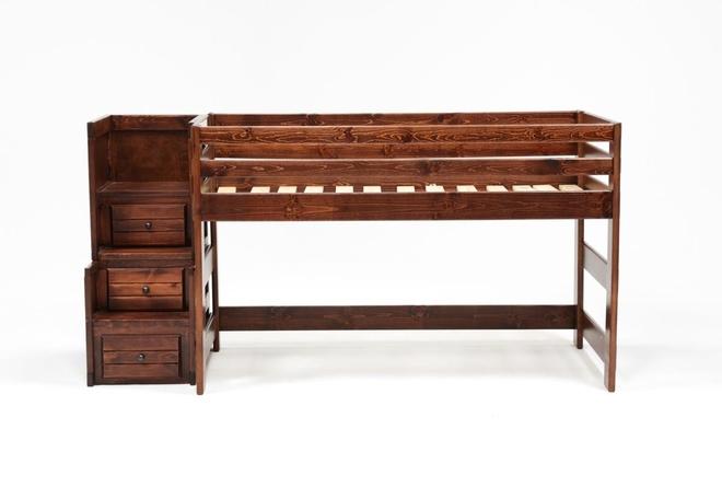Sedona Junior Loft Bed With Junior Stairway Chest - 360