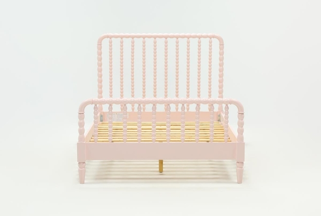 Madison Pink Full Spindle Panel Bed - 360