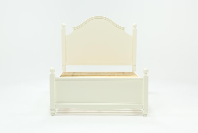 Madison White Full Poster Bed - 360