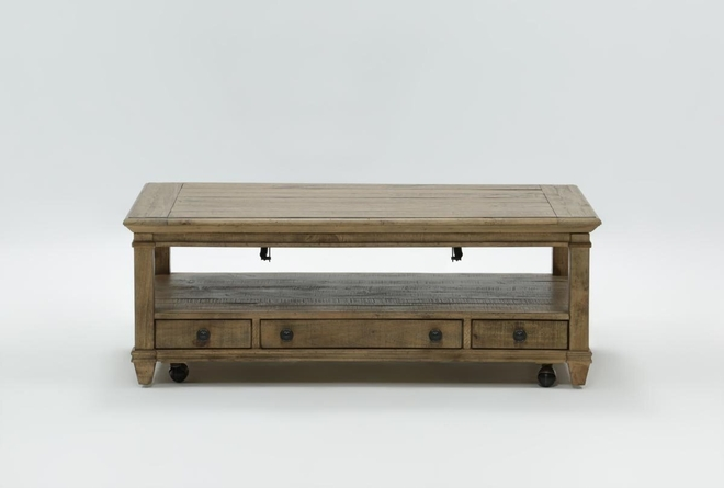 Market Lift-Top Coffee Table - 360