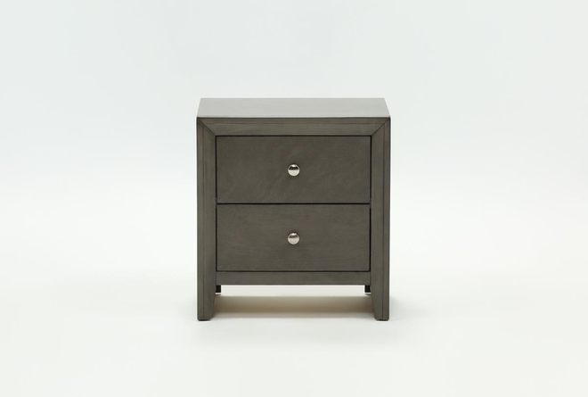 Chad Grey Nightstand - 360