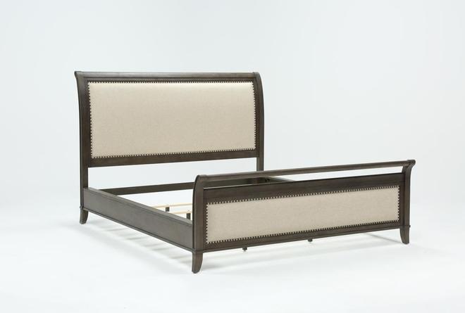 Candice II Eastern King Sleigh Bed - 360