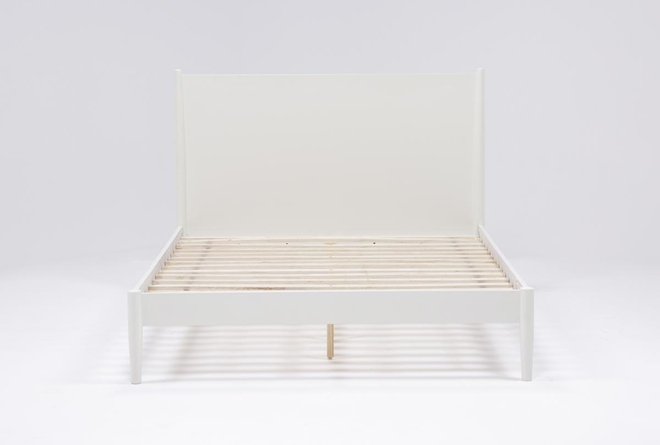Alton Ecru Queen Platform Bed - 360