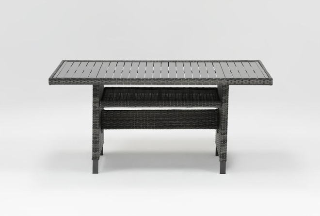 Outdoor Domingo Banquette Dining Table - 360