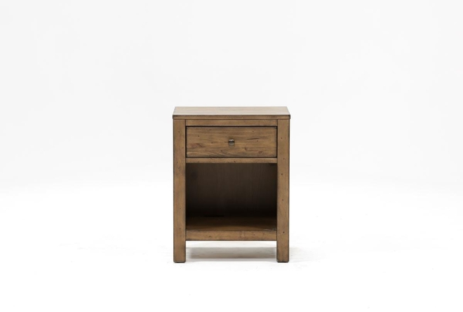 Brooke 1-Drawer Nightstand - 360