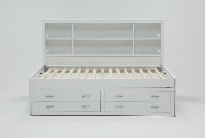 Hayden White Full Roomsaver Bed - 360