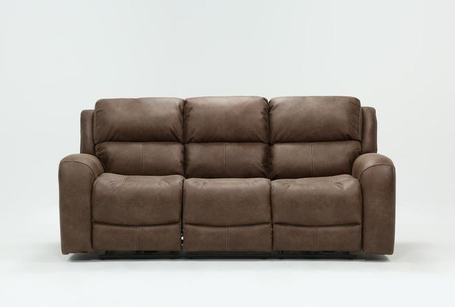 Deegan Bark Power Reclining Sofa - 360