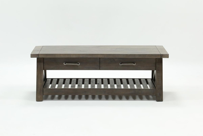 Jaxon Grey Lift-Top Coffee Table - 360