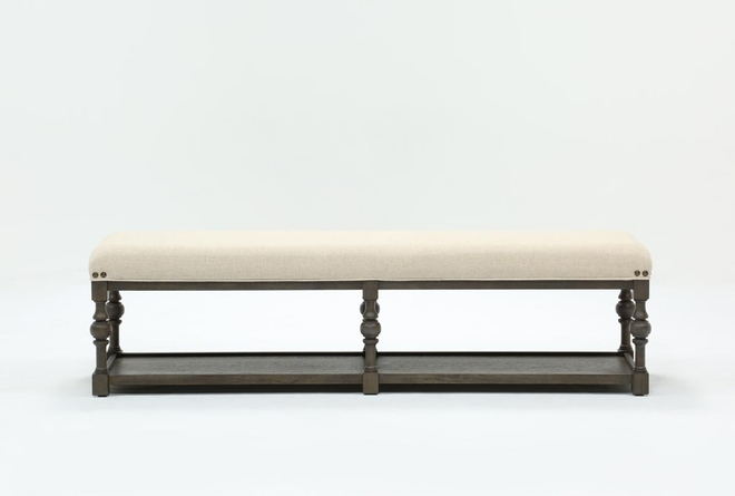 Candice II Upholstered Dining Bench - 360
