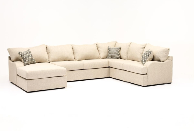 Meyer 3 Piece Sectional With Left Arm Facing Chaise - 360