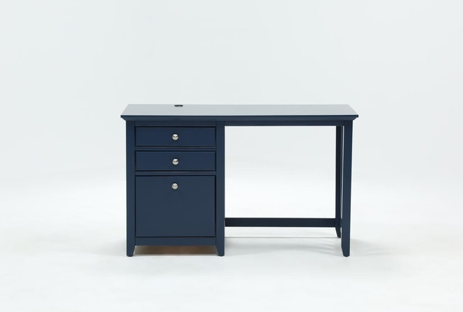 Taylor Navy Desk With USB - 360