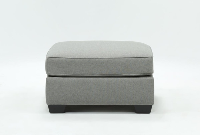 Mcdade Ash Oversized Accent Ottoman - 360