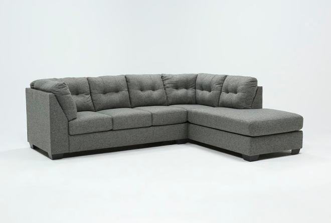 Arrowmask 2 Piece Sectional with Right Arm Facing Chaise - 360