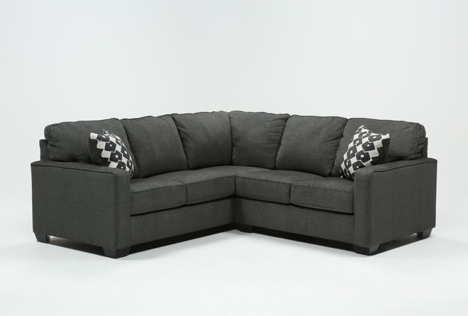 Turdur 2 Piece Sectional With Right Arm Facing Loveseat - 360