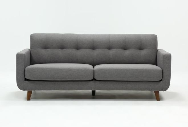 "Allie Dark Grey 82"" Sofa - 360"