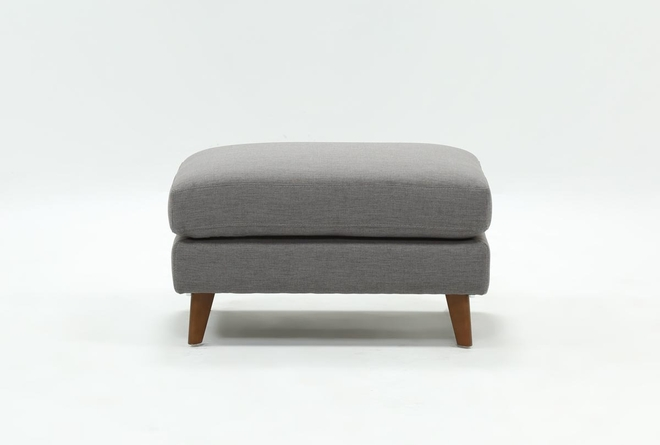 Tremendous Allie Dark Grey Ottoman Living Spaces Caraccident5 Cool Chair Designs And Ideas Caraccident5Info