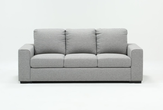 "Lucy Grey 84"" Sofa - 360"