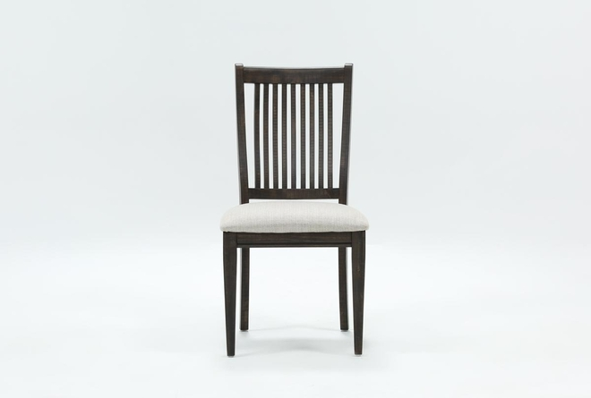 Valencia Dining Side Chair With Upholstered Seat - 360