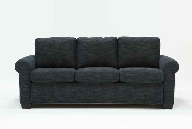 Alexis Denim Queen Plus Sofa Sleeper - 360