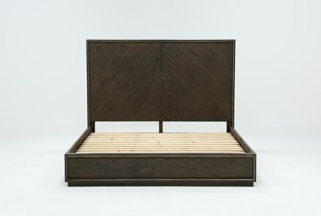 Logan California King Panel Bed - 360