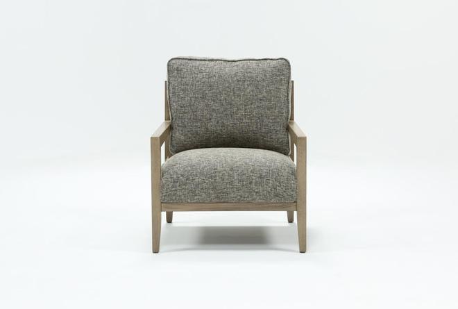Caressa Grey Accent Chair - 360