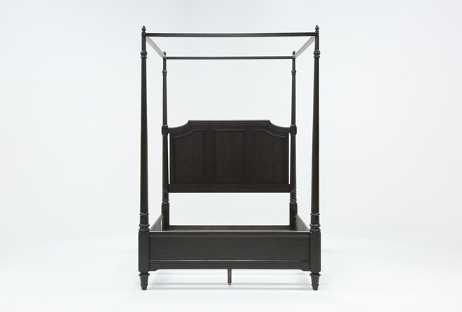 Deanne Queen Canopy Bed - 360