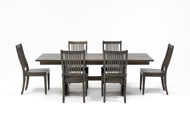 Valencia 72 Inch 7 Piece Dining Set - 360