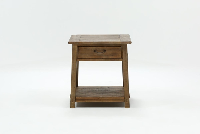Craftsman Storage End Table - 360