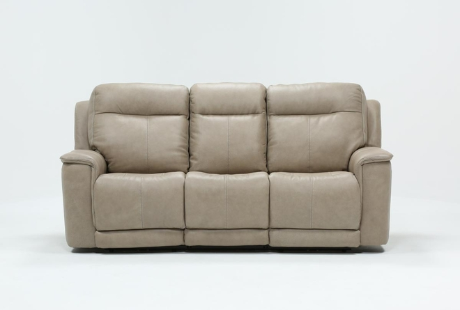 Walsh Dove Power Reclining Sofa W/Power Headrest, Lumbar & Usb - 360