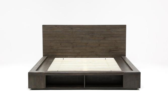 Dylan Queen Platform Bed - 360