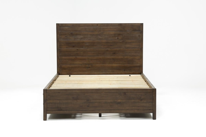 Rowan California King Panel Bed With Storage - 360