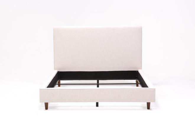 Dean Sand Full Upholstered Panel Bed - 360