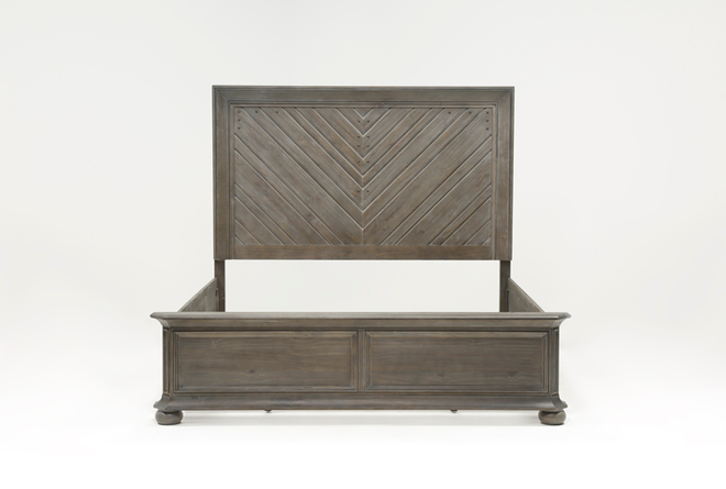 Laurent Eastern King Panel Bed - 360