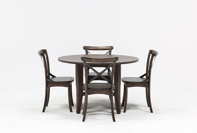 Grady 5 Piece Round Dining Set - 360
