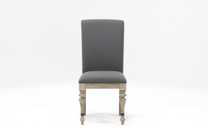 Caira Upholstered Side Chair - 360