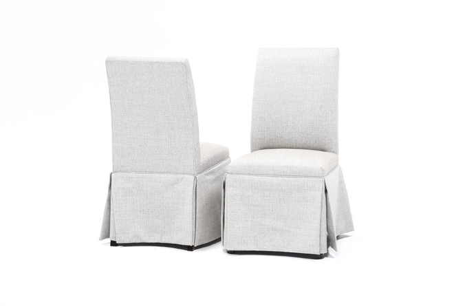 Garten Nightingale Skirted Dining Side Chairs Set Of 2 - 360