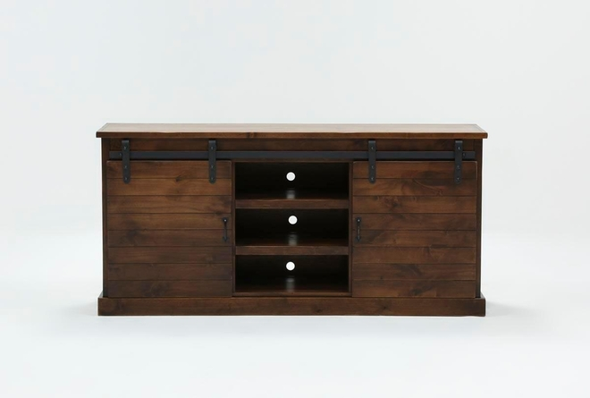 Noah Aged Whiskey 66 Inch TV Stand - 360
