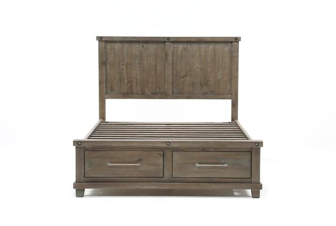 Jaxon Grey Full Storage Bed - 360