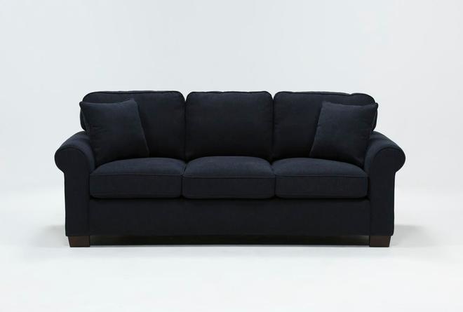Peachy Margot Denim Queen Sofa Sleeper Living Spaces Ibusinesslaw Wood Chair Design Ideas Ibusinesslaworg
