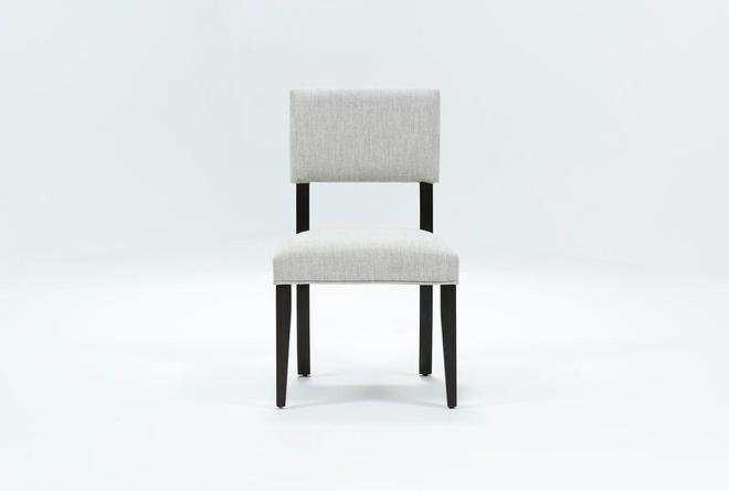 Macie Black Side Chair - 360