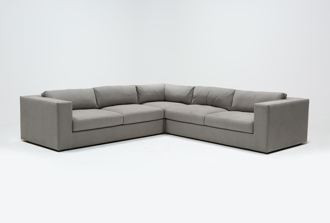 "Whitley 3 Piece 126"" Sectional By Nate Berkus & Jeremiah Brent - 360"