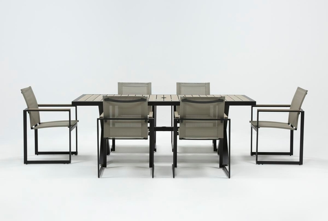 Sorrento Outdoor 7 Piece Dining Set - 360