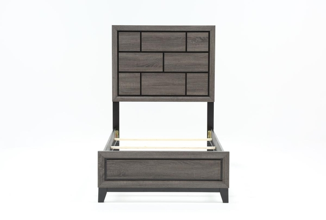 Finley Twin Panel Bed - 360