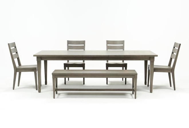 Casey 6 Piece Extension Dining Set - 360