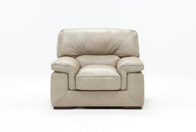 Molly Leather Chair - 360