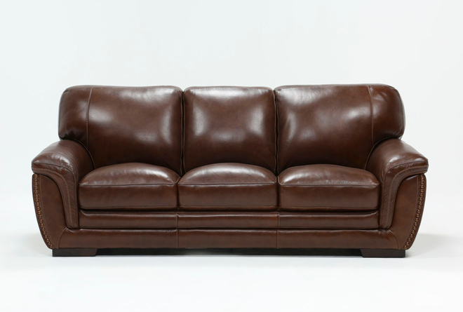 Cassidy Leather Sofa - 360