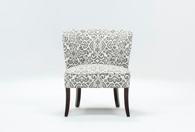 Kaylee Grey Accent Chair - 360